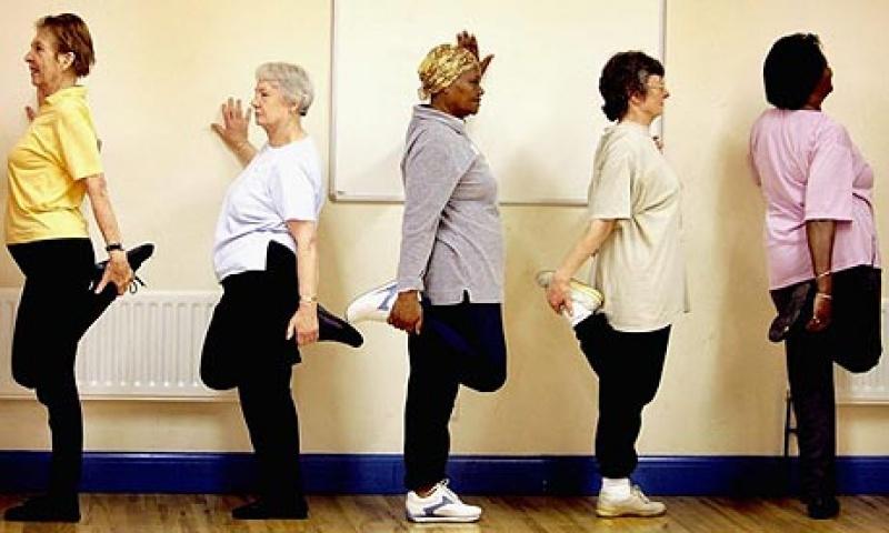 Mozgás idős korban