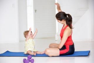Miért fontos a baba–mama jóga