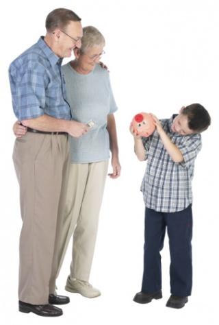 A nagyszülők jó hatással vannak a gyerekekre