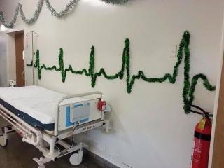 Karácsony a kórházban