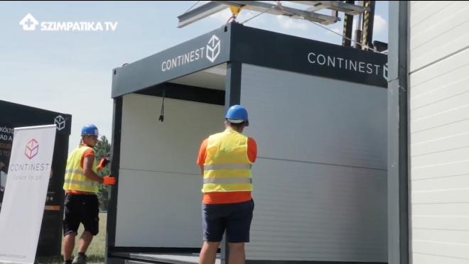 Hogy fér el 24 konténer egy kamionon?