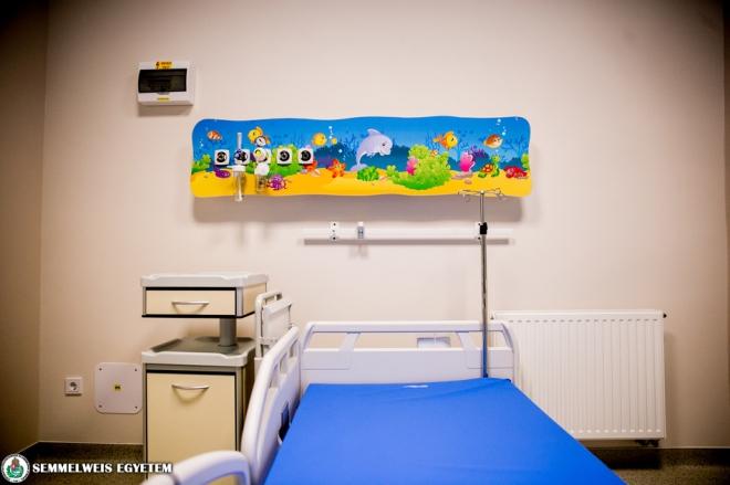 Átadták a II.Sz. Gyermekgyógyászati Klinika Hemato-Onkológiai Osztályát
