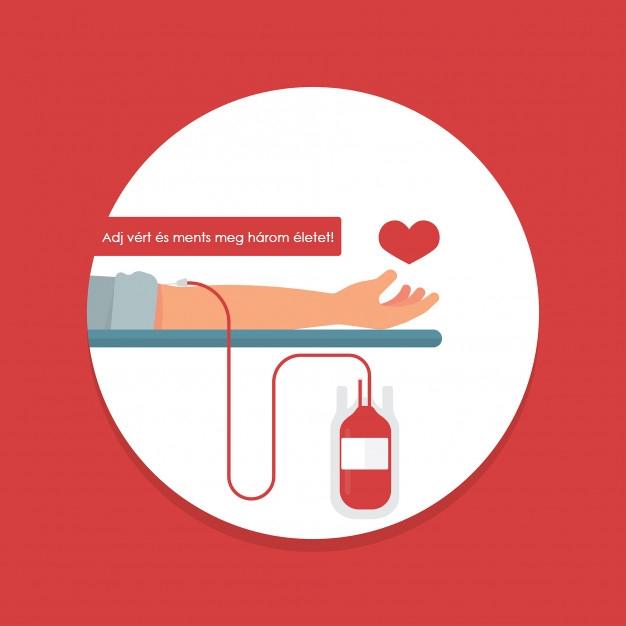 Aki vért ad, életet ad!
