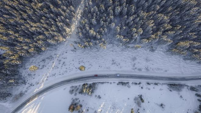 Autós kisokos télre