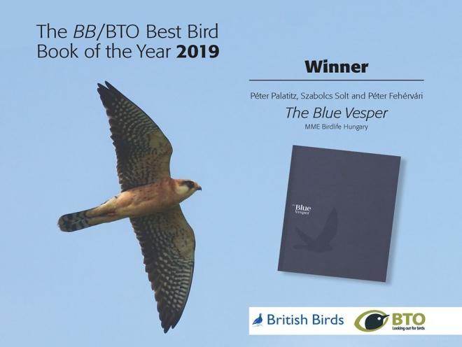 Nemzetközi siker - díjat nyert a Kék könyv