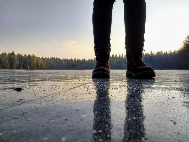 Óvatosan a jégen!