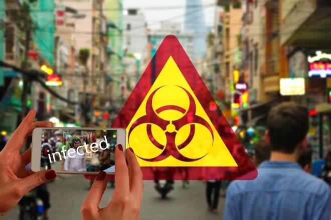 Oroszországban mobiltelefonok segítségével fogják nyomon követni a fertőzötteket