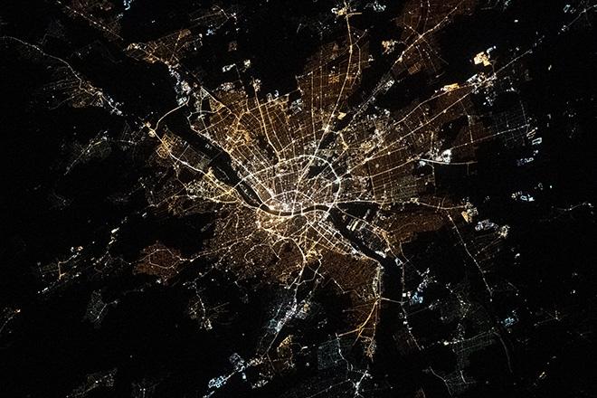 Budapestről készítettek fotót a Nemzetközi Űrállomáson