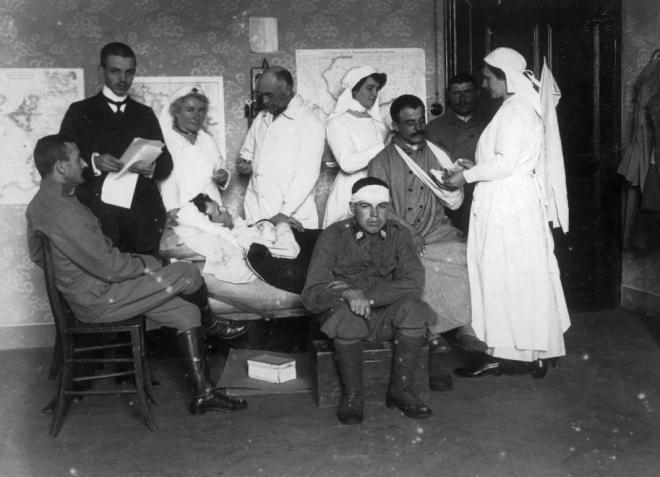 Az orvoskar az első világháború idején
