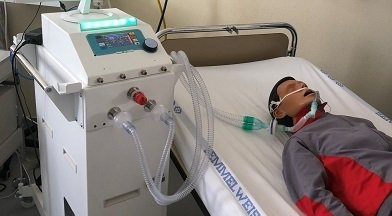 Jól vizsgázott a betegeken is tesztelt magyar lélegeztetőgép