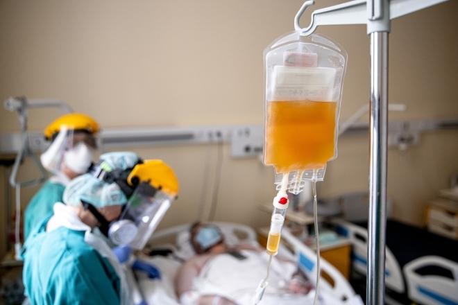 A súlyos betegeken segít a vérplazmakezelés