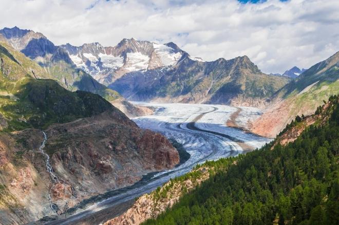 Aggodalomra ad okot a svájci gleccserek gyors olvadása