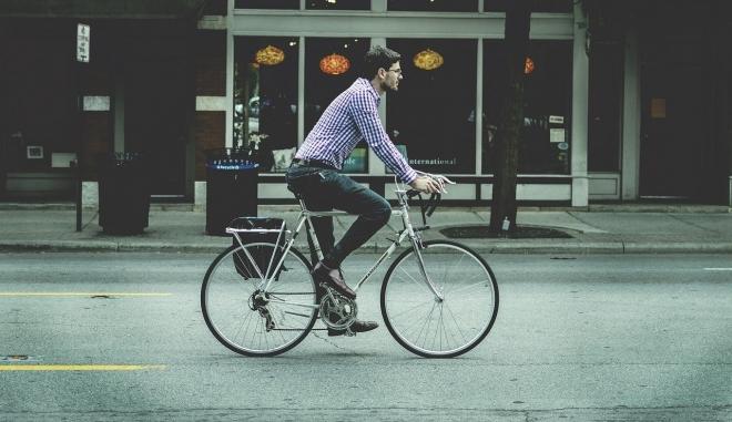 Újrahasznosított bringával a környezettudatosság jegyében