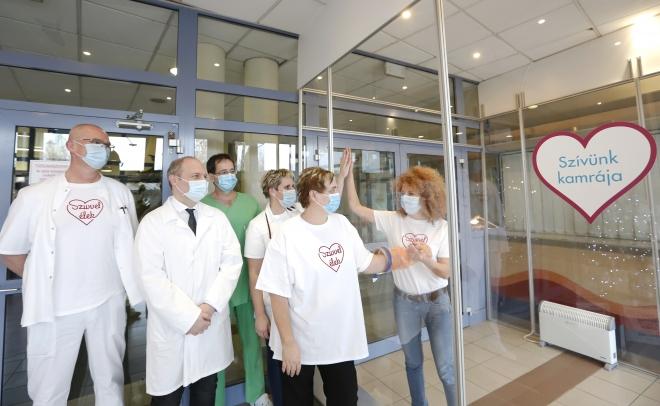 Speciális beteglátogató helyiség létesült az Országos Kardiológiai Intézetben