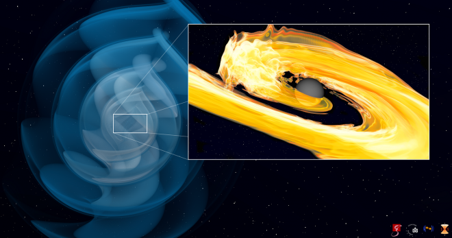 Mi történik, ha egy csillag és egy feketelyuk találkozik?