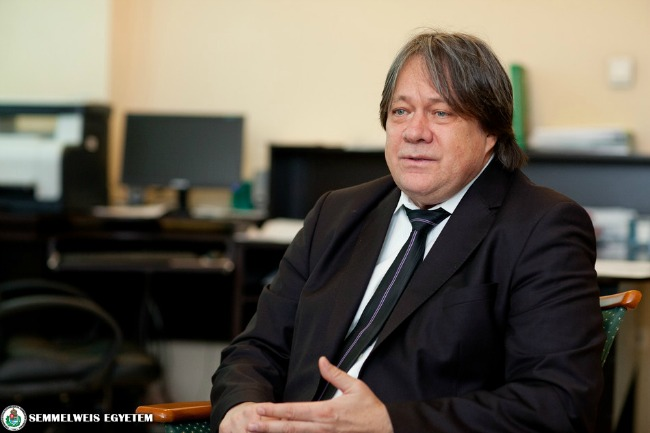 Dr. Cseh Károly (Fotó: Kovács Attila/Semmelweis Egyetem)