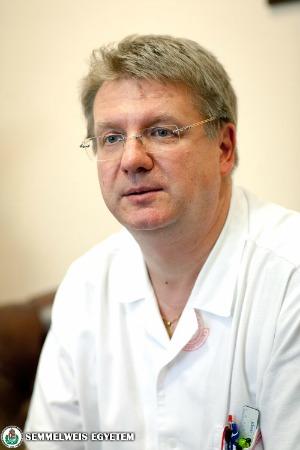 Dr. Nagy Zoltán Zsolt (Fotó: Kovács Attila – Semmelweis Egyetem)