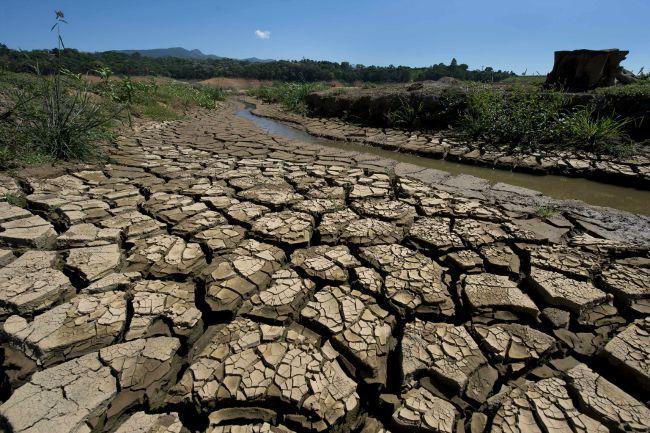 Aszály Brazíliában (Fotó: AFP / Hirado.hu)