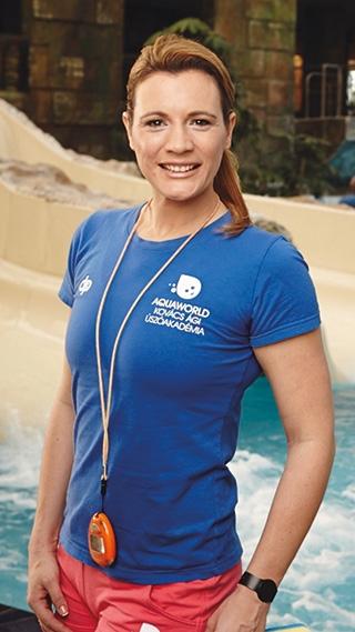 Kovács Ágnes olimpiai bajnok úszó, kétszeres világ- és hétszeres Európa-bajnok, világkupa győztes, örökös magyar bajnok. Az Aquaworld – Kovács Ági Úszóakadémia szakmai vezetője.