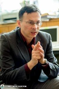 Dr. Purebl György  Fotó: Kovács Attila – Semmelweis Egyetem