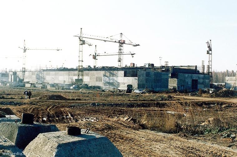 Majak Ipari Vegyi Kombinát  Forrás: upload.wikimedia.org Szerző: Carl Anderson