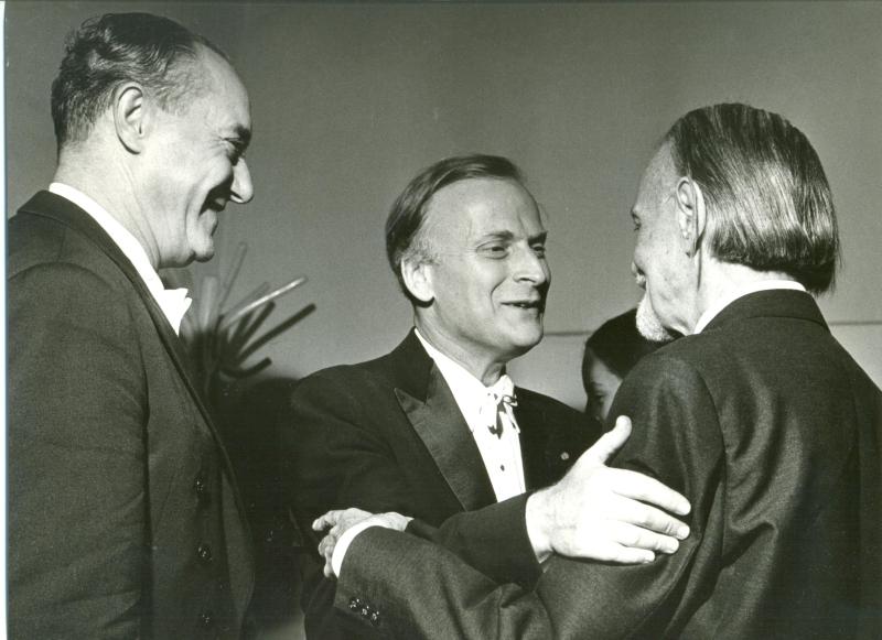 Ferencsik, Menuhin és Kodály – Forrás: www.homegaleria.hu