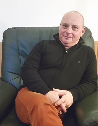Kovács Csaba, a Félúton Alapítvány ügyvezetője, kuratóriumi titkára