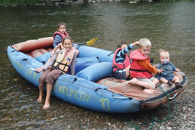 Nyaralás 2008 – akkor még öt gyerekkel