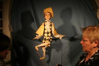 A Gyermekszínházi Portál logója (Arlekin) animálása közben – 2008