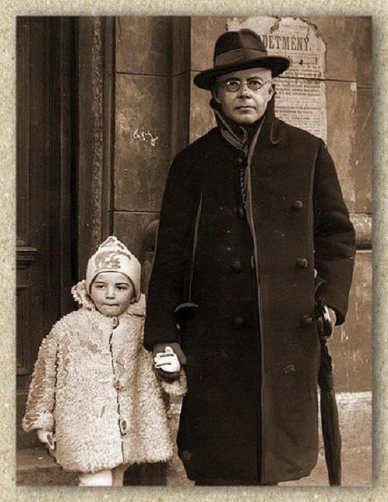 Bartók Béla és fia, Bartók Péter 1929-ben