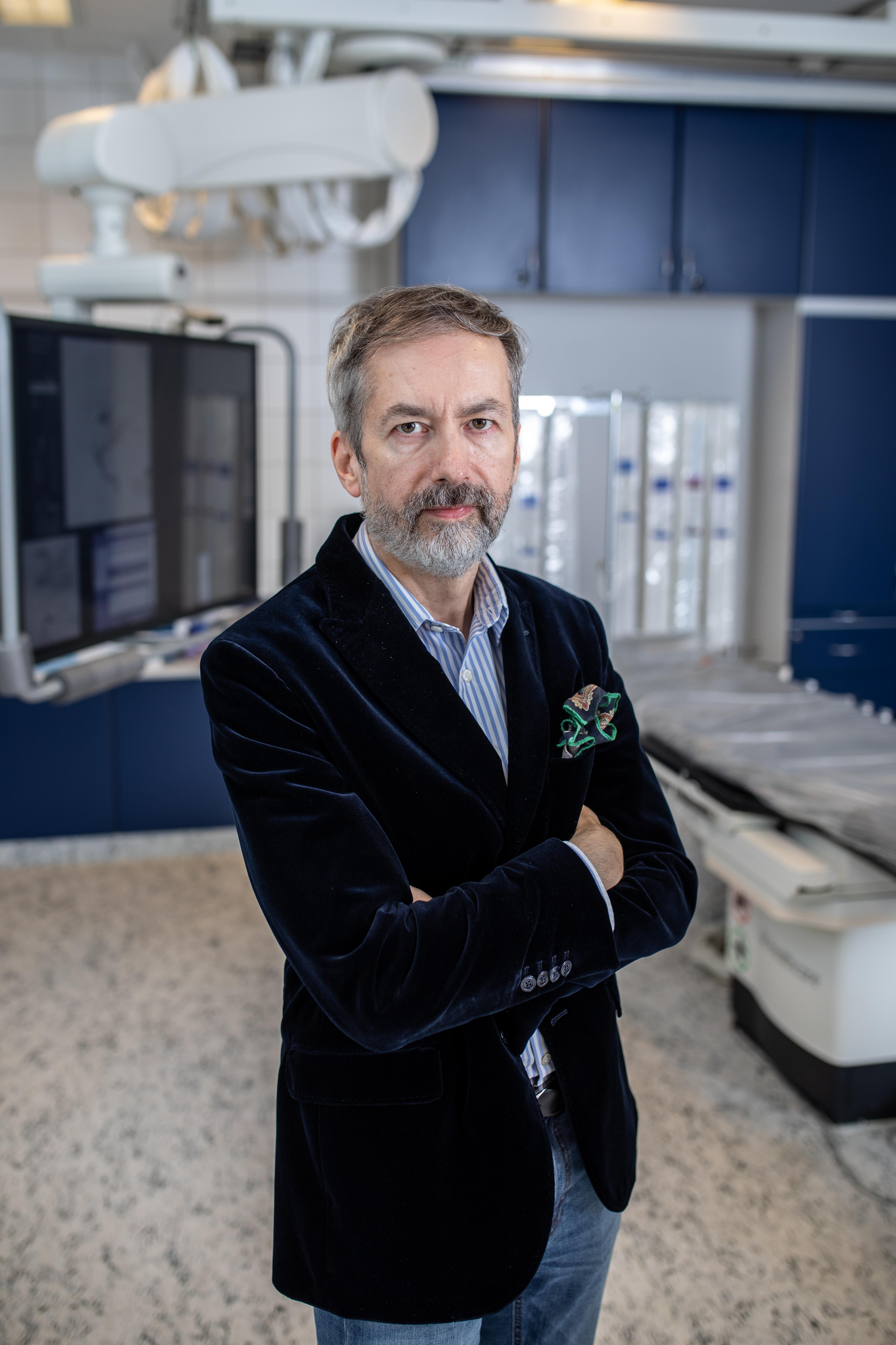 Óváry Csaba, az Országos Klinikai Idegtudományi Intézet (OKITI) főigazgatója Fotó: Móricz-Sabján Simon