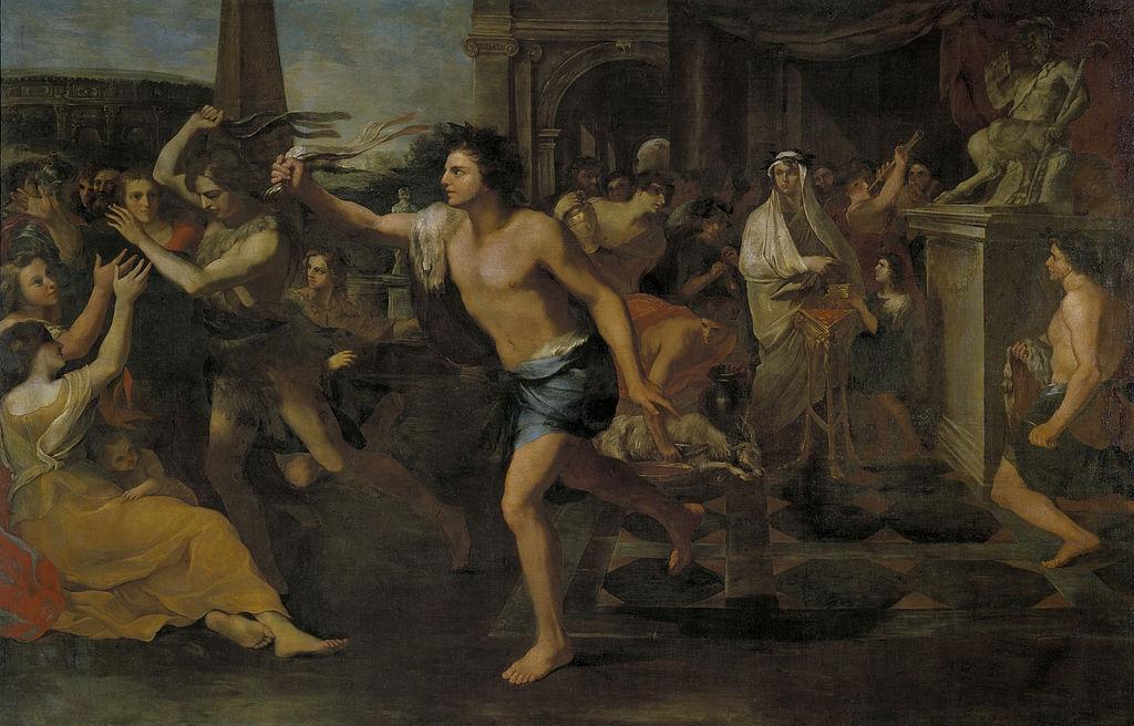 A Lupercalia ünnepet ábrázoló festmény